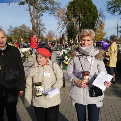 1 listopada 2018 - Kwesty w województwie łódzkim
